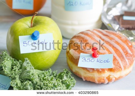 how many calories in apple