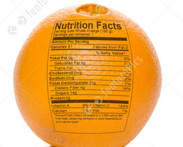 orange nutrition facts