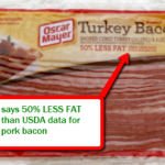turkey bacon nutrition facts