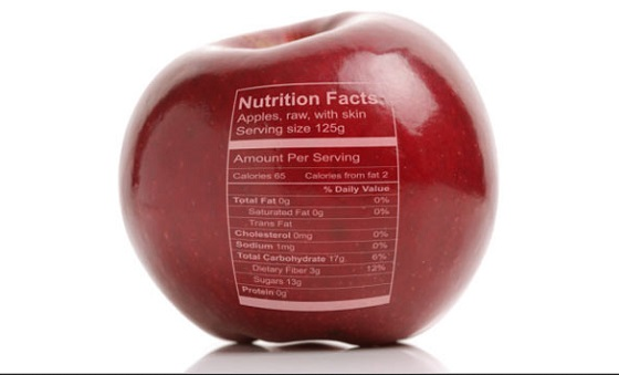 1 apple nutrition facts