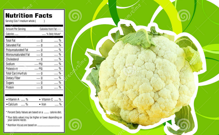 cauliflower nutrition facts