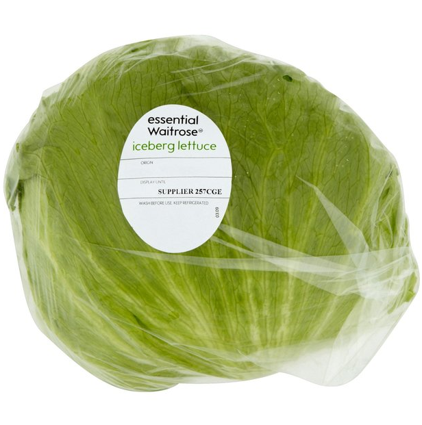 iceberg lettuce nutrition facts