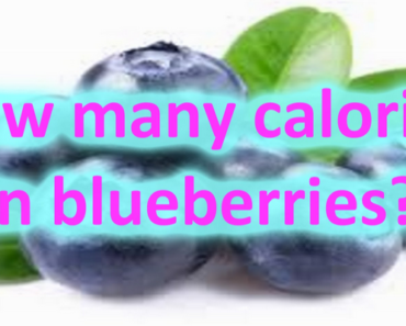 Calories in Blueberries