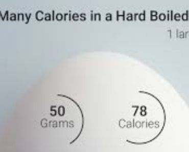 Calories in a Hard Boiled Egg