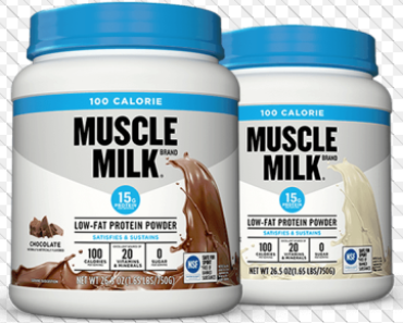 Muscle Milk Nutrition