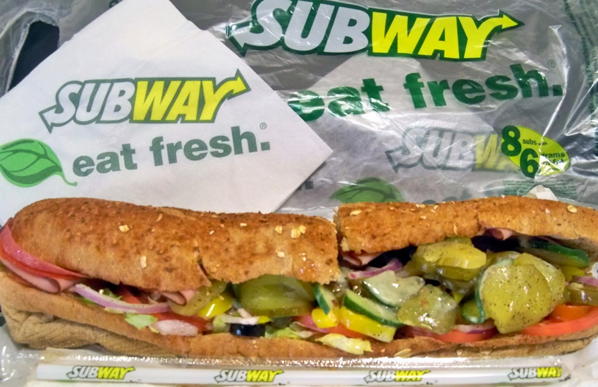 Subway Nutritional Information Helps You Make Healthy Choices   Nutrition Facts : The Truth Facts About Food, Fruit, Vegetable
