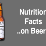 Beer Nutrition Facts