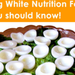 1 egg white nutrition facts