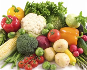 Vegetable Nutrition Facts Chart