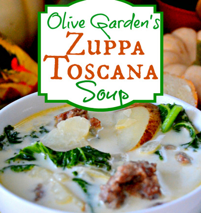 Review Of Olive Garden Zuppa Toscana Nutrition Facts