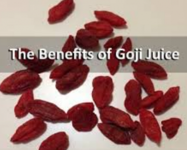 Goji Juice Benefits