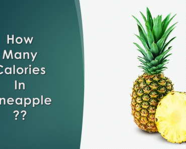 How Many Calories Are in A pineapple